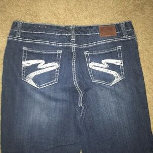 Maurice's Blue Jeans Size 15/16 Short
